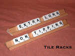 Extra Long Non-tipping Tile Racks